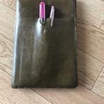 革のノートカバー自作