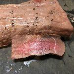 牛肉の燻製